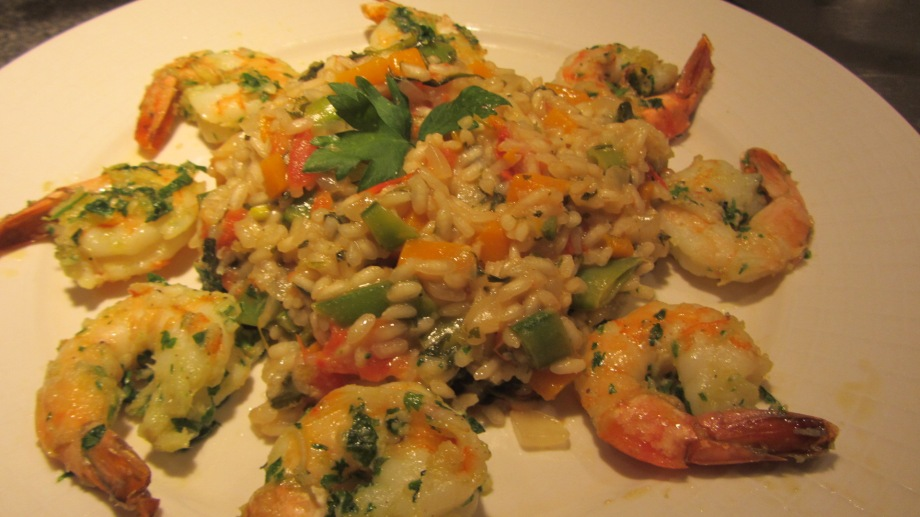 ... baby spinach flatbread shrimp risotto with baby spinach and basil